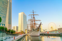 YOKOHAMA, ΙΑΠΩΝΙΑ - 24 Νοεμβρίου: Nippon Maru σε Yokohama, Ιαπωνία επάνω Στοκ εικόνα με δικαίωμα ελεύθερης χρήσης