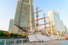 YOKOHAMA, ΙΑΠΩΝΙΑ - 24 Νοεμβρίου: Nippon Maru σε Yokohama, Ιαπωνία επάνω Στοκ φωτογραφίες με δικαίωμα ελεύθερης χρήσης