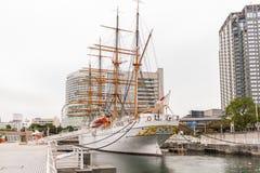 YOKOHAMA, ΙΑΠΩΝΙΑ - 6 Νοεμβρίου: Nippon Maru σε Yokohama, Ιαπωνία Στοκ εικόνα με δικαίωμα ελεύθερης χρήσης