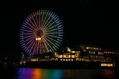 Yokohama τη νύχτα Στοκ Εικόνα