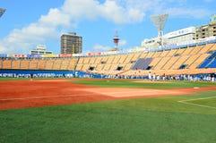 Yokohama baseball field Stock Photo