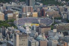 Yokohama baseballstadion Fotografering för Bildbyråer