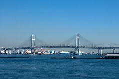 Yokohama Bay Bridge Stock Photography