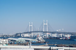 Yokohama Bay Bridge Stock Photos