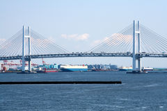 Yokohama Bay Bridge.Japan Stock Images