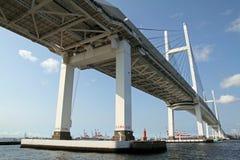 Yokohama bay bridge Royalty Free Stock Image
