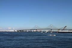 Yokohama bay bridge Stock Images