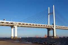 Yokohama bay bridge Stock Image