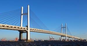 Yokohama bay bridge Royalty Free Stock Photos