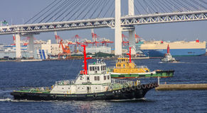 Yokohama bay Stock Images