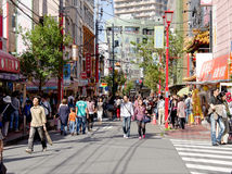 Yokohama China Town Royalty Free Stock Photography