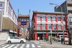 The Yokohama Chinatown Goodwill Gate Stock Image