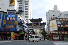 Yokohama Chinatown, Japan lizenzfreie stockbilder