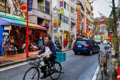 Yokohama Chinatown in Japan Stock Images