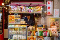 Yokohama Chinatown in Japan Royalty Free Stock Photography