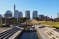 Yokohama City. The beautiful scenery of the Yokohama city Royalty Free Stock Photos