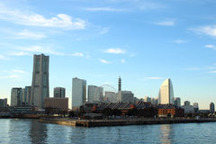 Yokohama city Royalty Free Stock Photo