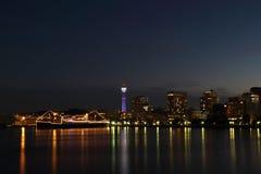 Yokohama city , Japan skyline Royalty Free Stock Images