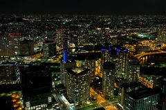 Yokohama City in Japan Royalty Free Stock Image