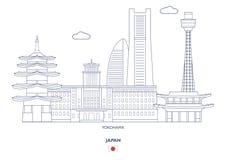 Yokohama City Skyline, Japan Stock Photo