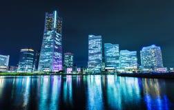 Yokohama city skyline Stock Images