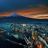 Yokohama City Surreal View Stock Photos
