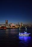 Yokohama City at Twilight stock images