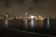 Yokohama city view Japan Royalty Free Stock Photo