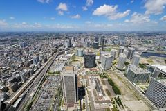 Yokohama Cityscape Royalty Free Stock Photo