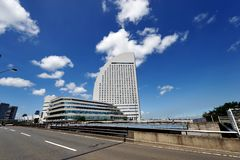 Yokohama Cityscape Royalty Free Stock Photos