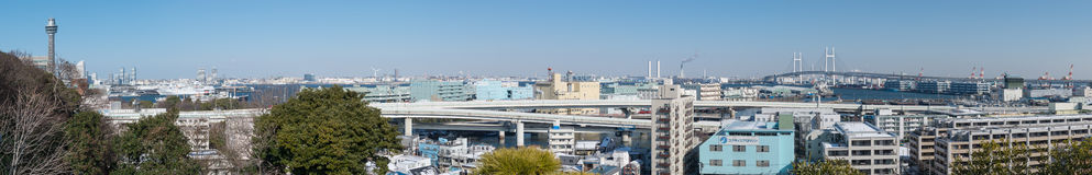 Yokohama Cityscape Royalty Free Stock Photography