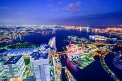 Yokohama Cityscape Royalty Free Stock Photos