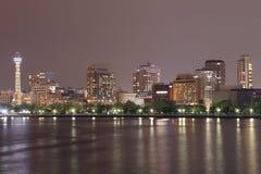 Yokohama cityscape at night Royalty Free Stock Photos
