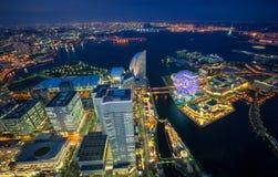 Yokohama cityscape Stock Photos