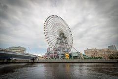 Yokohama Ferris Wheel, Japon images libres de droits
