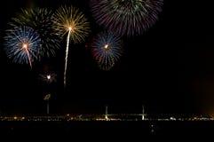 Yokohama Fireworks Stock Photos