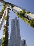 Yokohama-Grenzstein-Kontrollturm Lizenzfreie Stockfotografie