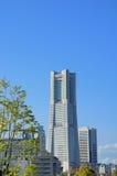 Yokohama-Grenzstein-Kontrollturm. Lizenzfreie Stockfotos
