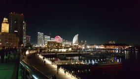 Yokohama-Hafen Stockfotos