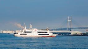 Yokohama-Hafen in Japan Stockbild