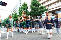 Yokohama: Het fonkelen Schemering Royalty-vrije Stock Fotografie
