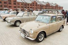Yokohama Historische Auto Dag 2013 Stock Afbeelding
