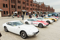 Yokohama Historische Auto Dag 2013 Royalty-vrije Stock Foto's