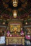 Yokohama - il Giappone, il 16 giugno 2017; Cinese Mazu Miao Temple nel 'chi' Fotografie Stock
