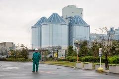 Yokohama Isogo termiczna elektrownia Obrazy Royalty Free