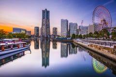 Yokohama Japan Fotografering för Bildbyråer
