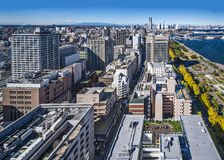 Yokohama, Japan. Veiwed from above Stock Images