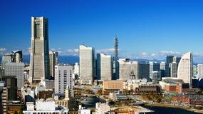 Yokohama cityscape Royalty Free Stock Photo