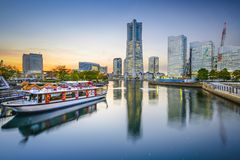 Yokohama, Japan Cityscape Royalty Free Stock Photography