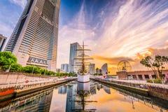 Yokohama, Japan Harbor Stock Photos